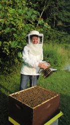 Honey Breeze beekeeper